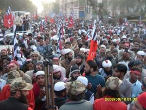 Ahrar rally Chanab Nagar Rabwah